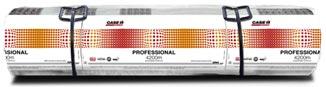 CASE IH Professional 4500m Rundballennetze werden