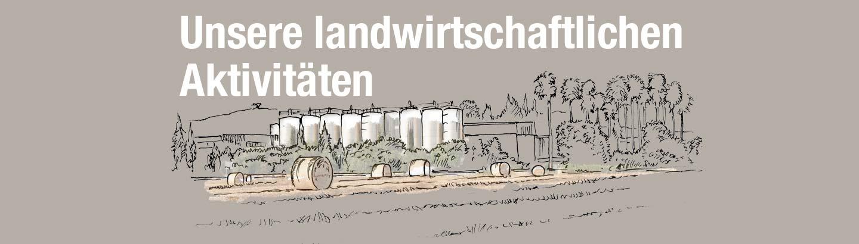landwirtschaftlichen Aktivitäten