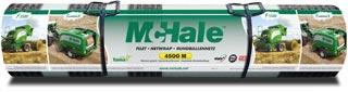 McHale 4500m Rundballennetze werden