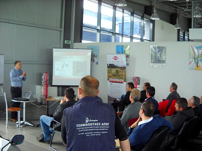 Kuhn Mitarbeiterschulung in Koszani Zentral Griechenland