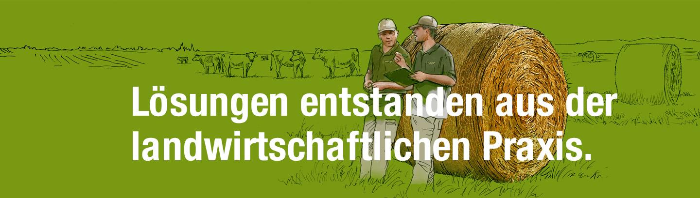 Lösungen entstanden aus der landwirtschaftlichen Praxis