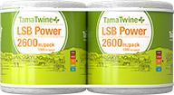 TamaTwinePlus LSB Power 2600 Pack
