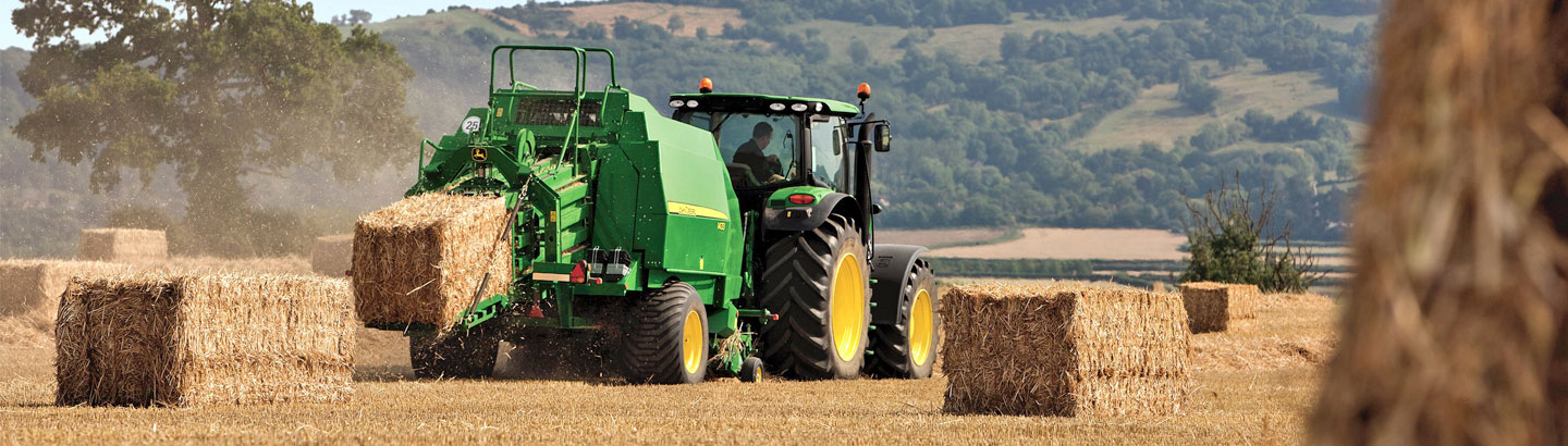 John Deere XtraTwine for Small Square and Round Bales