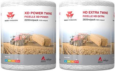 Massey Ferguson XD Power 2200m and HD Extra 2600m