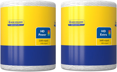 New Holland HD Power 2200m and HD Extra 2600m